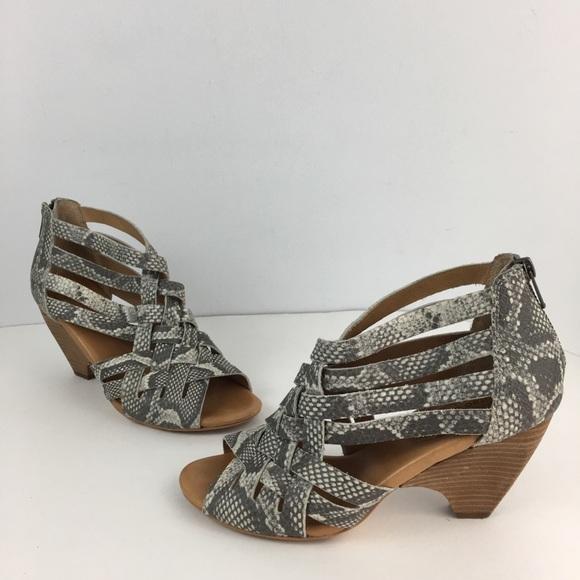e4718ab77afa2 Corso Como Shoes - Corso como python leather sandal booties